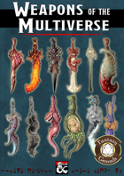 Weapons of the Multiverse (Fantasy Grounds)