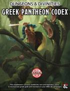 Greek Pantheon Codex for D&D5e