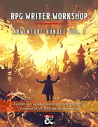 RPG Writer Workshop Summer 2020 Vol. I [BUNDLE]