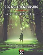 RPG Writer Workshop Summer 2020 Vol. V [BUNDLE]