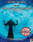 Mythic actions! (Volo's Guide to Monsters)