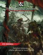 Diva's Dashing Defenses: A Martial Fighter Archetype for Battlefield Commanders