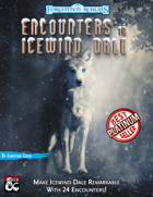 Encounters in Icewind Dale