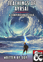 Teachings of Ayrsai - A Compendium of Cold