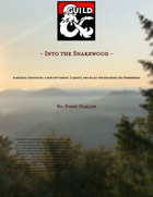 Into the Snakewood