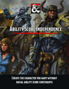 Ability Score Independence