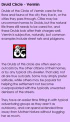 Druid - Circle of Vermin