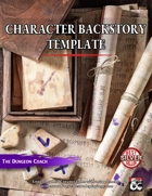 Character Backstory Template
