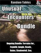 Unusual Encounters Bundle [BUNDLE]