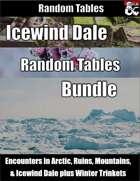 Icewind Dale Bundle - Encounters and Random Tables [BUNDLE]