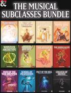Musical Subclasses [BUNDLE]