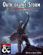 Oath of the Storm, an electrifying paladin subclass for D&D 5e v1.0