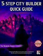 5 Step City Builder Quick Guide
