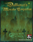 Dalliance's Monster Compendium: Ghosts