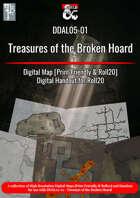 DDAL 05-01 Treasure of the Broken Hoard Map Pack