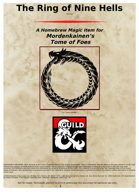 The Ring of Nine Hells REVISED