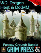 FANTASY GROUNDS Dragon Heist & Dungeon of the Mad Mage [BUNDLE]