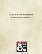 Selkie Race and Background