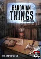 Barovian Things