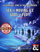 Sea of Moving Ice, Gods of Fury - expanded maps and content for Rime of the Frostmaiden