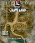 Graveyard battlemap