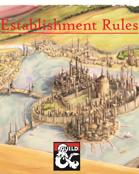 Establishment Rules