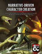 Narrative-Driven Character Creation