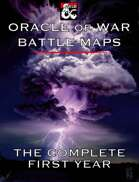 Oracle of War Battle Maps - The Complete First Year