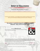 Spirit of Halloween, Artificer: Mad Scientist Specialty