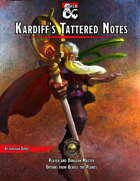 Kardiff's Tattered Notes (Fantasy Grounds)