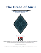 The Creed of Auril
