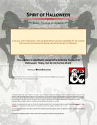 Spirit of Halloween, Bard: College of Horror