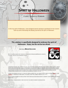 Spirit of Halloween, Cleric: Haunted Domain