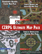 CZRPG Ultimate Map Pack [BUNDLE]