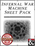 Infernal War Machine Sheet Pack
