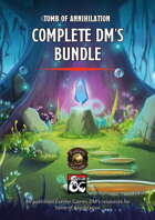 Tomb of Annihilation Complete DM's Bundle (maps, advice, adventures, cheatsheets, and more) (Fantasy Grounds)