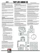They Live Among US - A One Page Dungeon