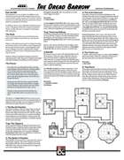 The Dread Barrows - A One Page Dungeon