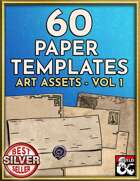 60 Paper, Letter, and Handout Templates - Hand Drawn Style