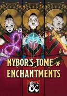 Nybor's Tome of Enchantments – magic items, item handouts, and enchanting rules for 5E