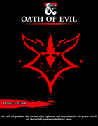 The Oath of Evil for Paladins [D&D 5e (2020)]