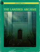 CCC-DWB-TLA-1 The Lakebed Archive