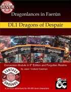 Dragonlances in Faerûn: DL1 Dragons of Despair - 5E (Fantasy Grounds)