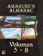 Amarune's Almanac - Volumes 5 - 8 [BUNDLE]
