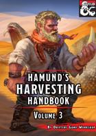 Hamund's Harvesting Handbook Volume 3 (Fantasy Grounds)