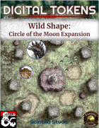Digital Tokens: Wild Shape, Circle of the Moon Expansion