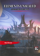 Elements Unsealed: An Expanded Spellbook