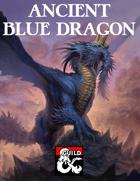 Ancient Blue Dragon
