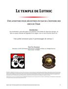 Le temple de Luthic (PDF + FGU) [BUNDLE]