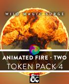 Animated VTT Fire 2 - Token Pack 4